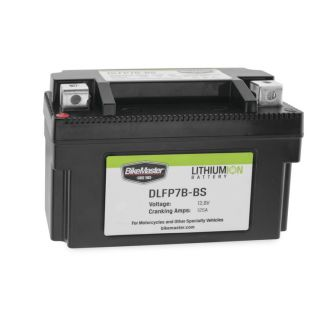BikeMaster Lithium-Ion Batteries for Street DLFP7B-BS Battery, 148mm L x 65mm W x 92mm H