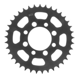 BikeMaster Rear Steel Sprockets for Offroad Rear 428, 36T, Black