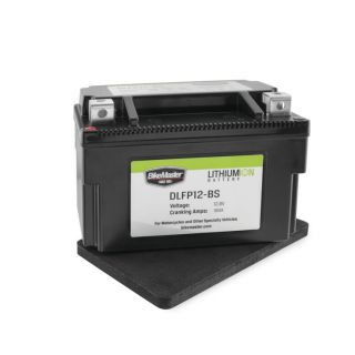 BikeMaster Lithium-Ion Batteries for Street DLFP12-BS Battery, 148mm L x 87mm W x 94mm H