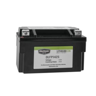 BikeMaster Lithium-Ion Batteries for Street DLFP14ZS Battery, 148mm L x 87mm W x 94mm H