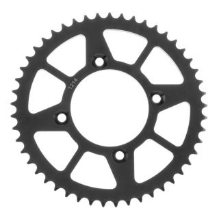 BikeMaster Rear Steel Sprockets Rear 420, 49T, Black
