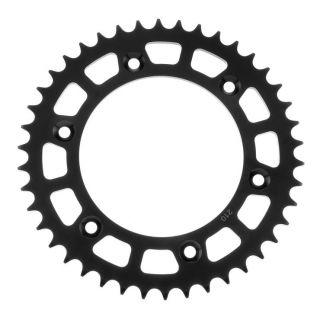 BikeMaster Rear Steel Sprockets Rear 520, 38T, Black