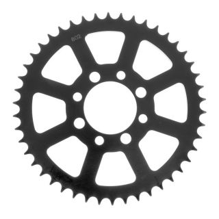 BikeMaster Rear Steel Sprockets for Street Rear 428, 42T, Black