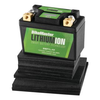 BikeMaster Lithium-Ion 2.0 for Street 107mm L x 56mm W x 85mm H, Replaces Lead Battery: BTZ5S, BTZ7S, BTX4L-BS, BTX5L-BS, BTX7L-BS, BB4L-A, BB4L-B, BB5L-B, BB6.5L-B, BB7C-A, BB7L-A, BB7L-B, 12N4-3B, 12N5-3B, 12N5.5-3B, 12N7-3B, 12N7A-3A, 12N7D-3B