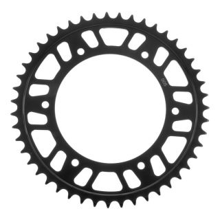BikeMaster Rear Steel Sprockets Rear 520, 47T, Black