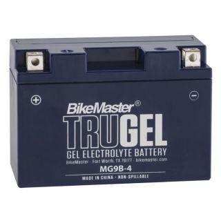 BikeMaster TruGel Batteries MG9B-4 Battery, 150mm L x 69mm W x 105mm H