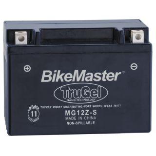 BikeMaster TruGel Batteries MG12Z-S Battery, 151mm L x 87mm W x 110mm H