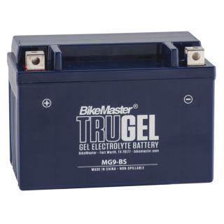 BikeMaster TruGel Batteries MG9-BS Battery, 151mm L x 87mm W x 105mm H