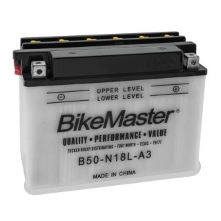 BikeMaster Performance Conventional Batteries for Street B/Y50-N18L-A3 Battery
