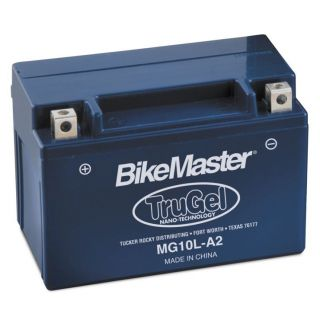 BikeMaster TruGel Batteries for ATV MG10L-A2 Battery, 134mm L x 88mm W x 145mm H