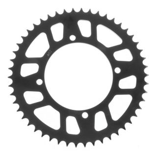 BikeMaster Rear Steel Sprockets for Offroad Rear 428, 49T, Black