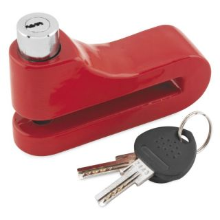 BikeMaster 10mm Disc Lock Red