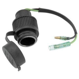 BikeMaster 12-Volt/15-Amp Standard Cigarette Lighter Socket for Power Supply