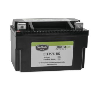 BikeMaster Lithium-Ion Batteries for Street DLFP7A-BS Battery, 148mm L x 87mm W x 94mm H