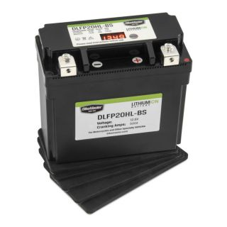 BikeMaster Lithium-Ion Batteries for Street DLFP20HL-BS Battery, 175mm L x 87mm W x 155mm H