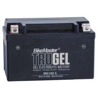 BikeMaster TruGel Batteries MG10ZS Battery, 151mm L x 87mm W x 94mm H