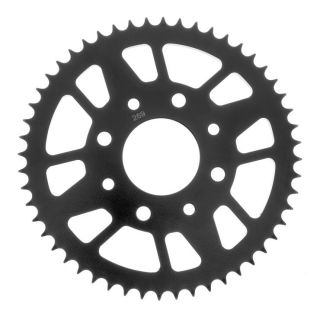 BikeMaster Rear Steel Sprockets for Street Rear 428, 52T, Black