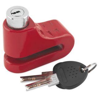 BikeMaster 5.5mm Disc Lock Red