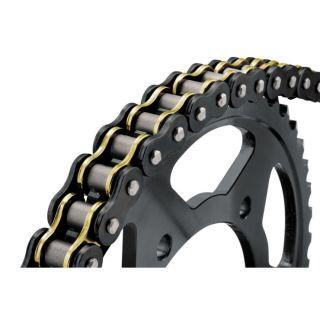 BikeMaster 525 BMZR Series Chain 525 x 150, Black/Gold