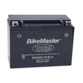 BikeMaster TruGel Batteries for ATV MG50-N18L-A Battery, 205mm L x 87mm W x 162mm H