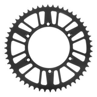 BikeMaster Rear Steel Sprockets Rear 520, 52T, Black