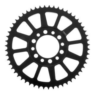 BikeMaster Rear Steel Sprockets Rear 428, 50T, Black
