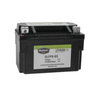 BikeMaster Lithium-Ion Batteries for Street DLFP9-BS Battery, 148mm L x 87mm W x 94mm H